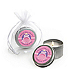 Pretty Princess - Personalized Baby Shower Candle Tin Favors