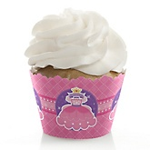 Pretty Princess - Baby Shower Cupcake Wrappers & Decorations