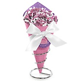 Pretty Princess - Baby Shower Candy Bouquets with Frooties