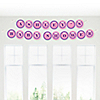 Pretty Princess - Personalized Baby Shower Garland Letter Banners