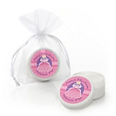 Pretty Princess - Lip Balm Personalized Baby Shower Favors
