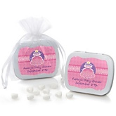 Pretty Princess - Mint Tin Personalized Baby Shower Favors
