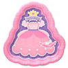 Pretty Princess - Baby Shower Dinner Plates - 8 ct