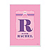 Pretty Princess - Personalized Baby Shower Poster Gift