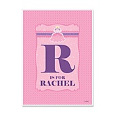 Pretty Princess - Personalized Baby Shower Poster Gifts