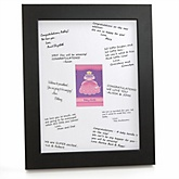 Pretty Princess - Personalized Baby Shower Print with Signature Mat