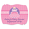 Pretty Princess - Personalized Baby Shower Squiggle Stickers - 16 ct