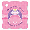Pretty Princess - Personalized Baby Shower Tags - 20 ct