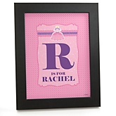 Pretty Princess - Personalized Nursery Wall Art Gift