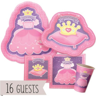 Pretty Princess - Birthday Party 16 Big Dot Bundle