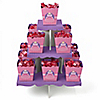 Pretty Princess - Birthday Party Candy Stand and 13 Candy Boxes