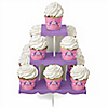 Pretty Princess - Birthday Party Cupcake Stand and 13 Cupcake Wrappers