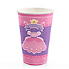 Pretty Princess - Birthday Party Hot/Cold Cups - 8 ct