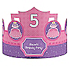 Pretty Princess - Personalized Birthday Party Hats - 8 ct