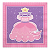Pretty Princess - Birthday Party Luncheon Napkins - 16 ct