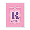 Pretty Princess - Personalized Birthday Party Poster Gift