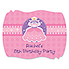 Pretty Princess - Personalized Birthday Party Squiggle Stickers - 16 ct