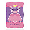 Pretty Princess - Personalized Birthday Party Thank You Cards