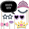 Pretty Princess - 20 Piece Photo Booth Props Kit