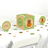 Little Pumpkin African American - Baby Shower Centerpiece & Table Decoration Kit