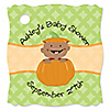 Little Pumpkin African American - Personalized Baby Shower Tags - 20 ct