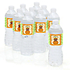 Little Pumpkin African American - Personalized Baby Shower Water Bottle Label Favors