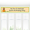 Little Pumpkin African American - Personalized Birthday Party Banners