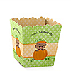 Little Pumpkin African American - Personalized Birthday Party Candy Boxes