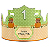 Little Pumpkin African American - Personalized Birthday Party Hats - 8 ct