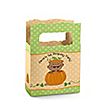 Little Pumpkin African American - Personalized Birthday Party Mini Favor Boxes