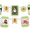 Little Pumpkin African American - Birthday Party Photo Garland Banners