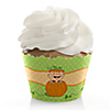Little Pumpkin Caucasian - Baby Shower Cupcake Wrappers