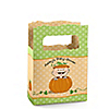 Little Pumpkin Caucasian - Personalized Baby Shower Mini Favor Boxes