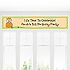 Little Pumpkin Caucasian - Personalized Birthday Party Banners
