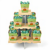 Little Pumpkin Caucasian - Birthday Party Candy Stand and 13 Candy Boxes