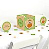Little Pumpkin Caucasian - Birthday Party Centerpiece & Table Decoration Kit