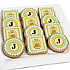 Little Pumpkin Caucasian - Personalized Birthday Party Cookies
