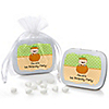 Little Pumpkin Caucasian - Personalized Birthday Party Mint Tin Favors