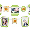 Little Pumpkin Caucasian - Birthday Party Photo Garland Banners