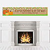 Pumpkin Patch - Personalized Fall & Halloween Baby Shower Banners