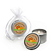 Pumpkin Patch - Personalized Fall & Halloween Baby Shower Candle Tin Favors