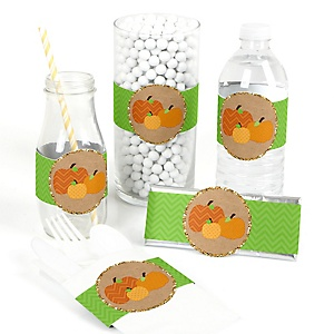 Pumpkin Patch - DIY Fall & Halloween Party Wrapper - 15 ct