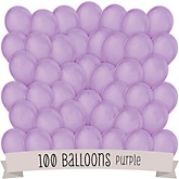 Purple - Baby Shower Balloon Kit - 100 Count