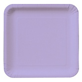 Purple - Baby Shower Dinner Plates - 18 Pack