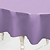 Lavender - Baby Shower Plastic Round Tablecovers