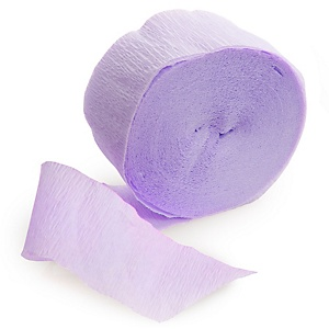 Purple - Baby Shower Streamer