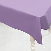 Purple - Baby Shower Plastic Table Cover