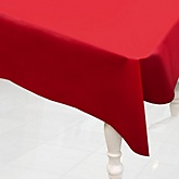 Red - Baby Shower Plastic Table Cover