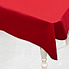 Red - Birthday Party Plastic Tablecovers