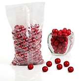 Red - One Inch Gumballs - Baby Shower Candy - 2 lbs